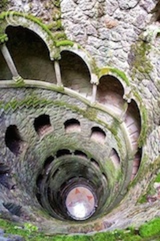 The Initiation Well in the town of Sintra